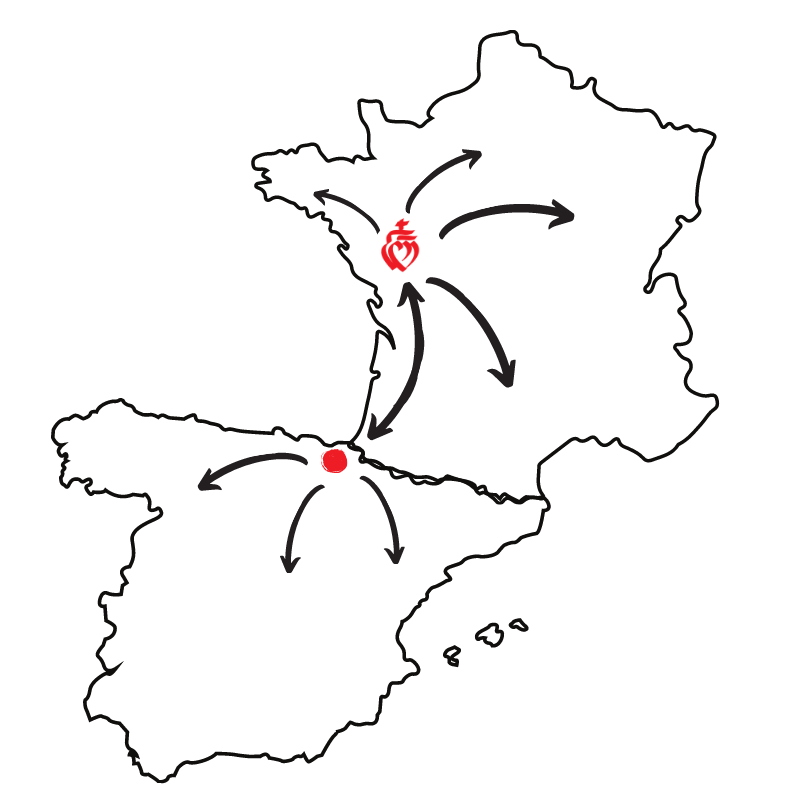 transport marchandises France Espagne